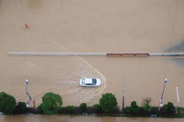 Hujan Deras, 320.000 Orang di Guangxi Terkena Dampaknya