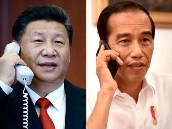 Perbincangan Telepon Dari Hati ke Hati Antara Presiden Jokowi dan Presiden Xi Jinping