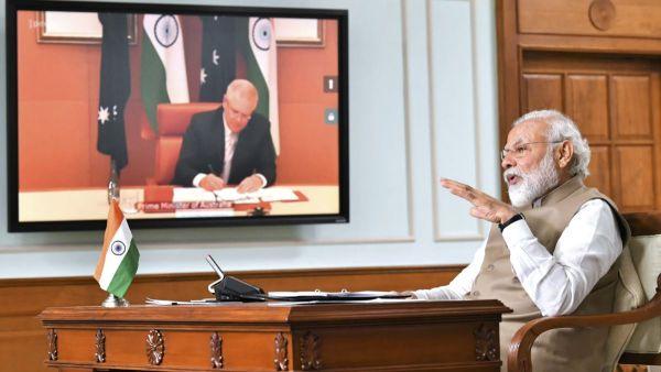 Ketegangan di Laut Tiongkok Selatan Meningkat, India-Australia Tandatangani Pakta Militer