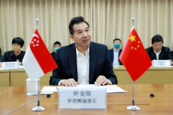 Mengenai Rapat Virtual Tiongkok-Singapura Tentang COVID-19