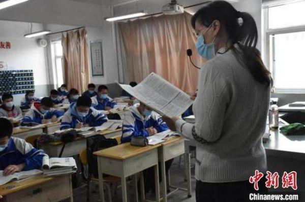 Siswa SMA Tiongkok Beradaptasi Dengan Kehidupan Sekolah yang `Tertutup`